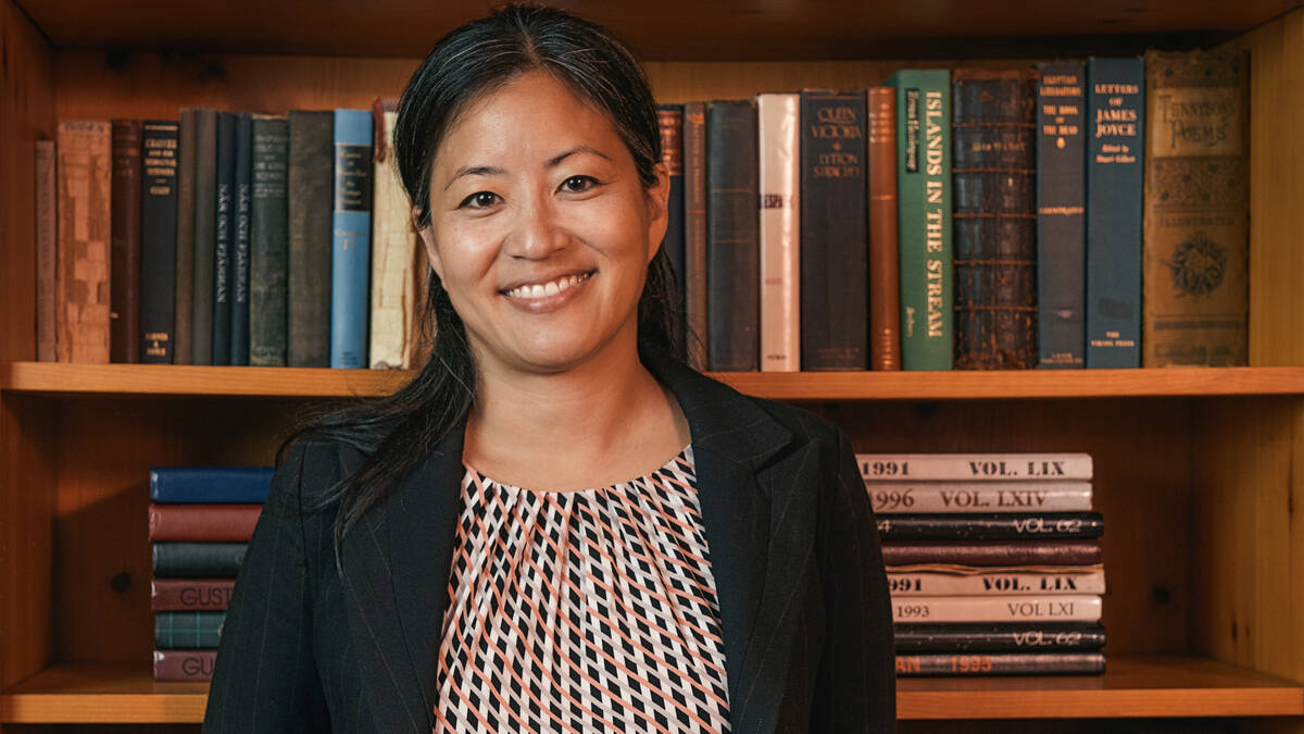 Dr. Yurie Hong - Associate Professor of Classics and Gender, Women, and Sexuality Studies, Chair, 2017 Nobel Conference