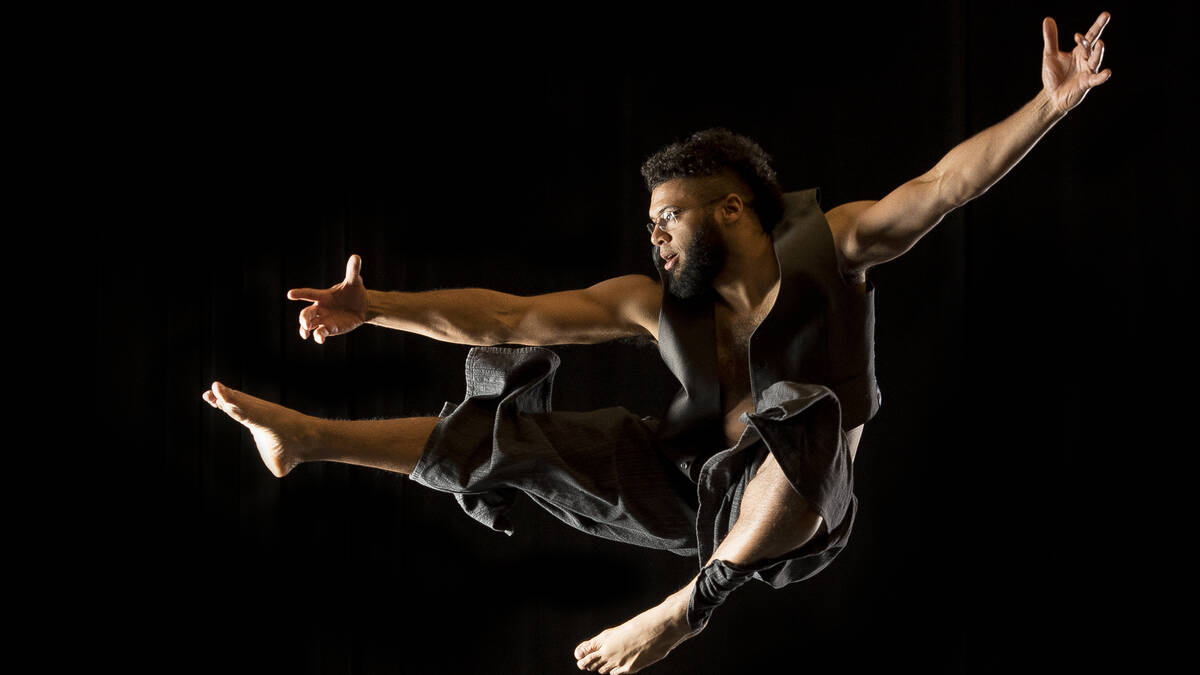 Brian J. Evans - Professional dancer, MFA candidate - University of Washington